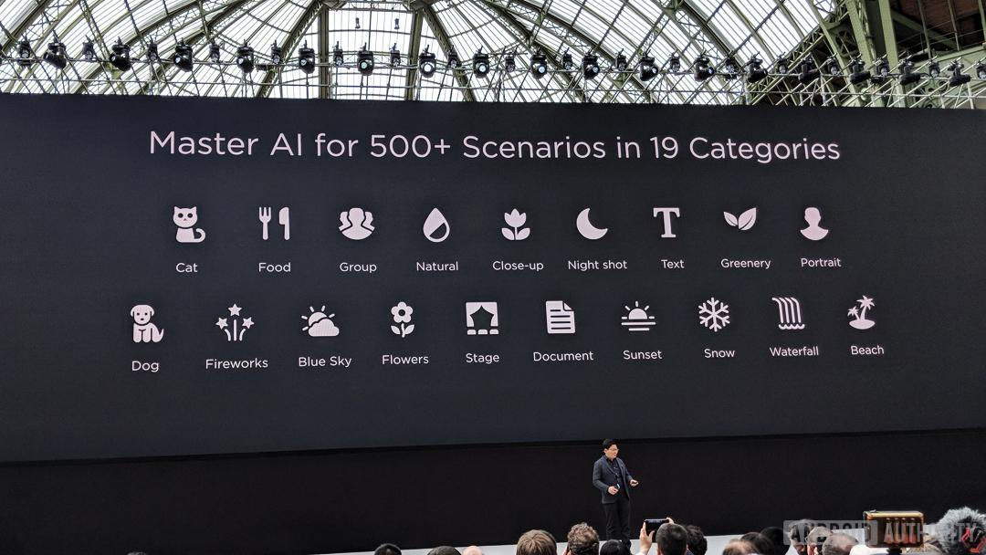 Huawei-P20-AI-scene-recognition