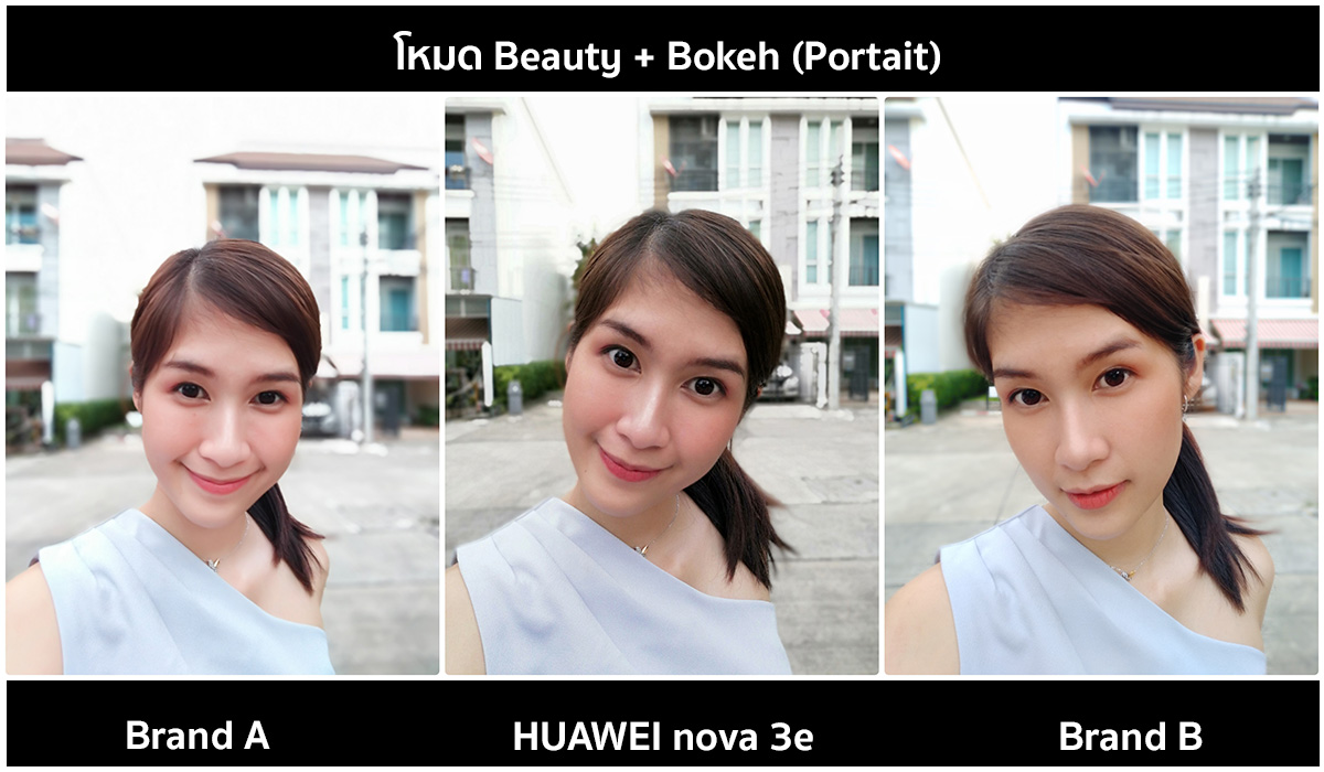 Huawei-nova-3e-Beauty-Bokeh-Mode-Selfies-Compare