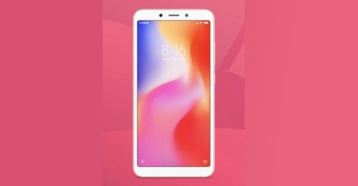 เผยภาพ Xiaomi Redmi 6 สมาร์ทโฟนราคาประหยัด รุ่นใหม่จาก Xiaomi ก่อนเปิดตัววันที่ 12 มิถุนายนนี้ !!