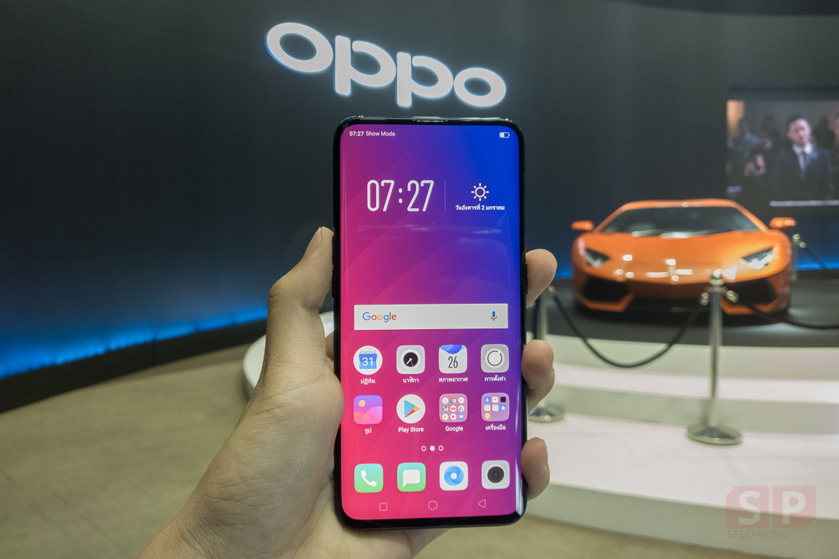 Hands on OPPO Find X 256GB SpecPhone 002