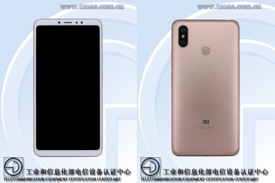 Xiaomi Mi Max 3 TENAA front and rear