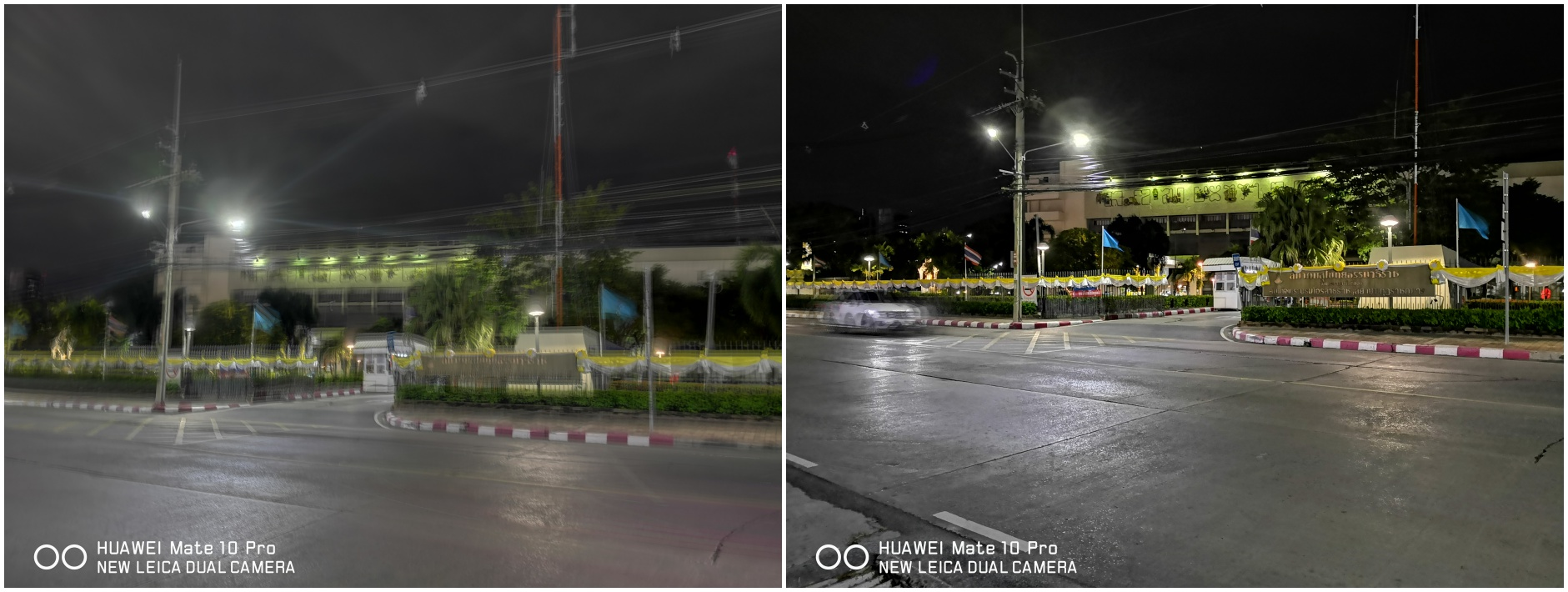 HUAWEI Mate 10 Pro Release New Updated Night Shot Mode