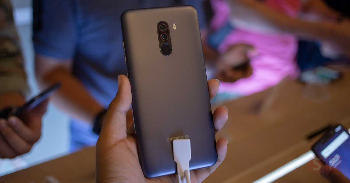 Hands on POCOPHONE F1 SpecPhone Cover 001 1
