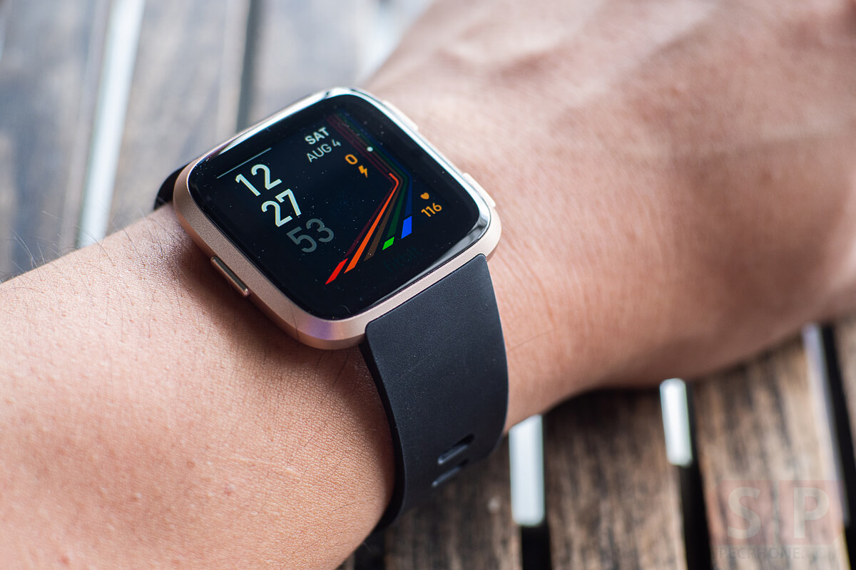fitbit versa how to set phone