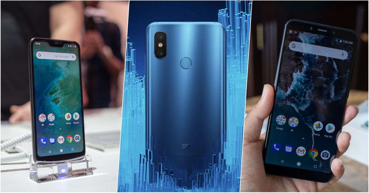 Xiaomi Mi8 Mi A2 Mi A2 Lite Launch in Thailand Cover