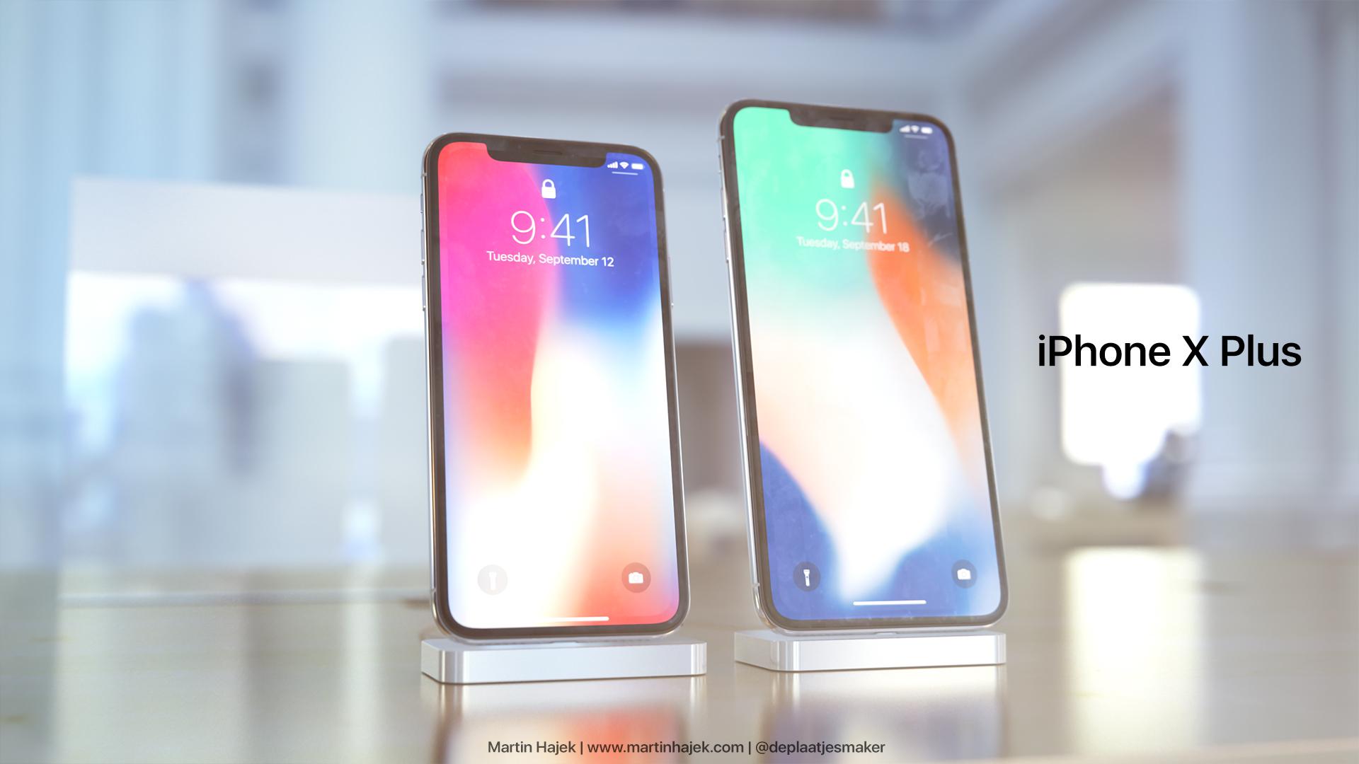 iPhone X Plus concept Martin Hajek 007