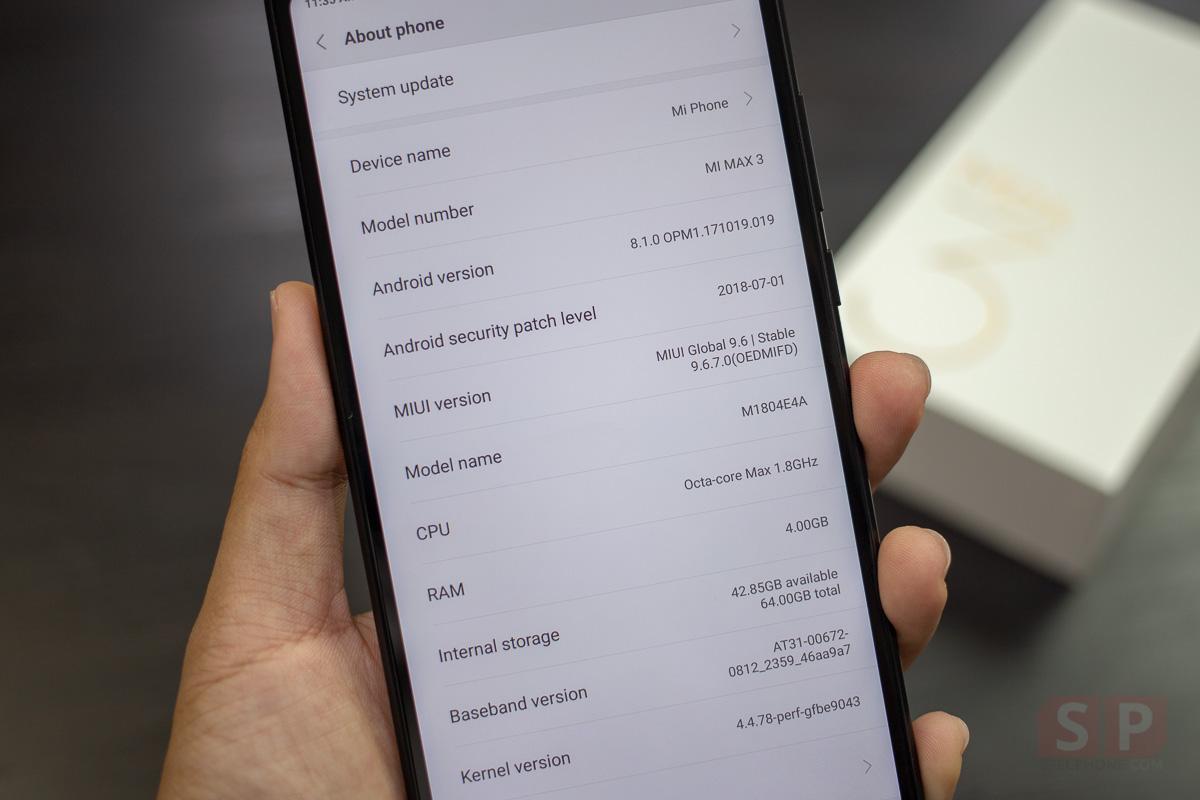 Hands on Xiaomi Mi Max 3 SpecPhone 008