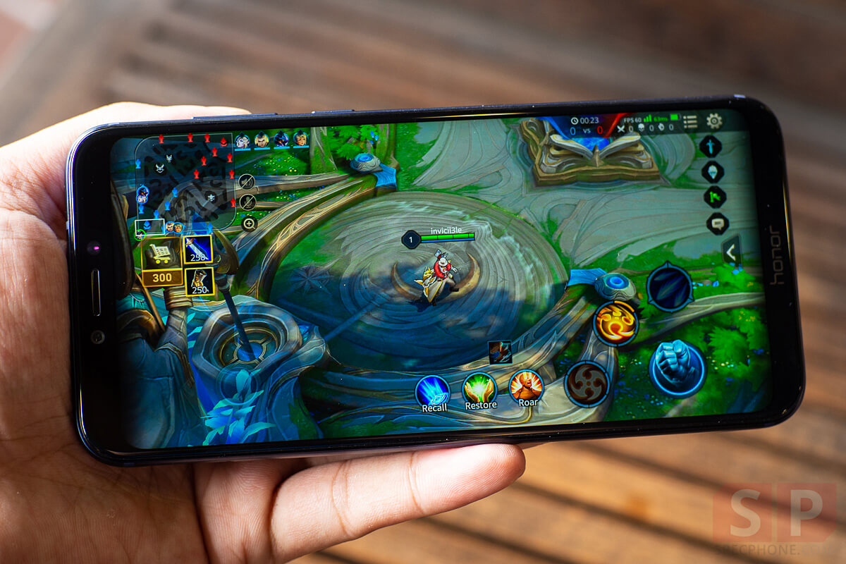 Review Honor Play SpecPhone 21