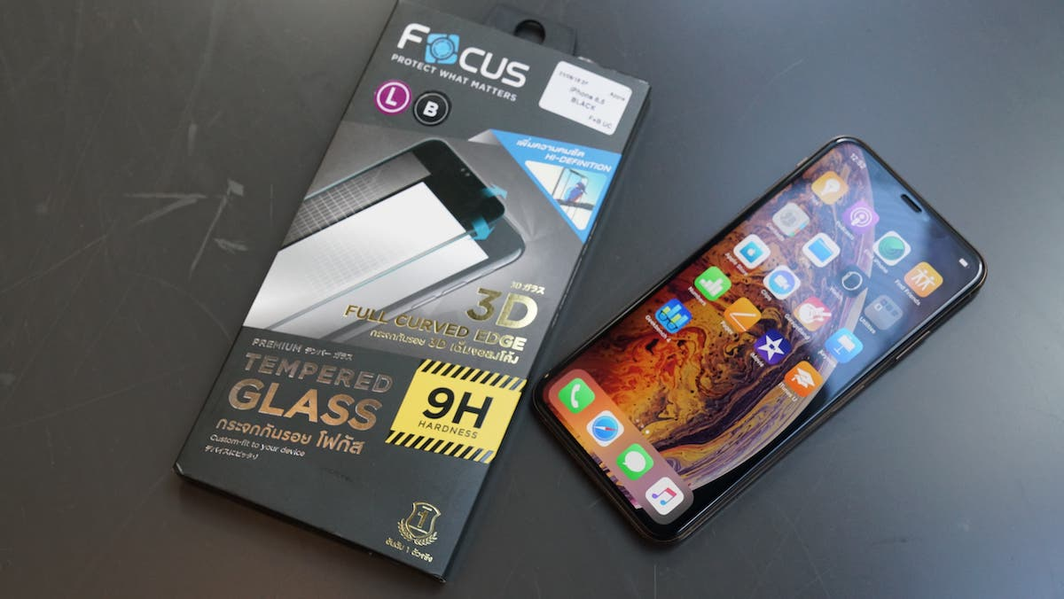 PR Focus Screen Protector for iPhone XS Max 00003