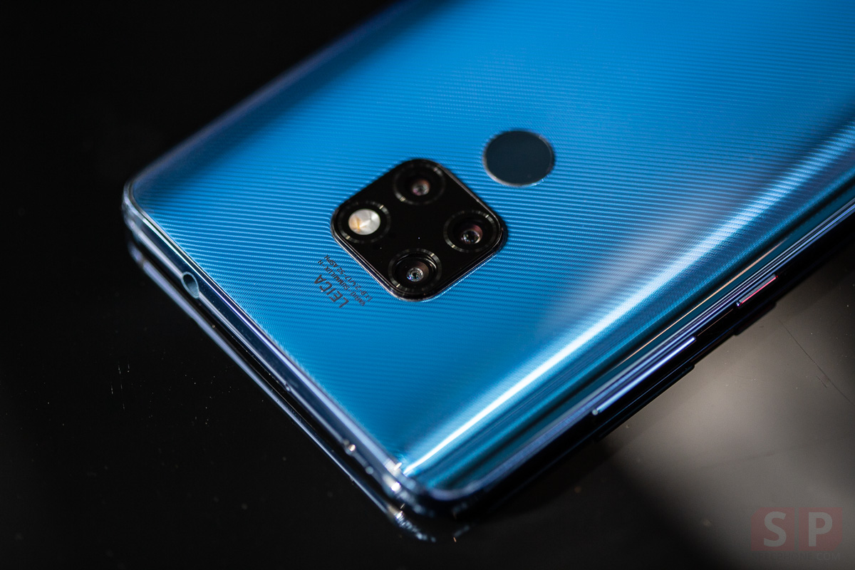 Review HUAWEI Mate 20 SpecPhone 12