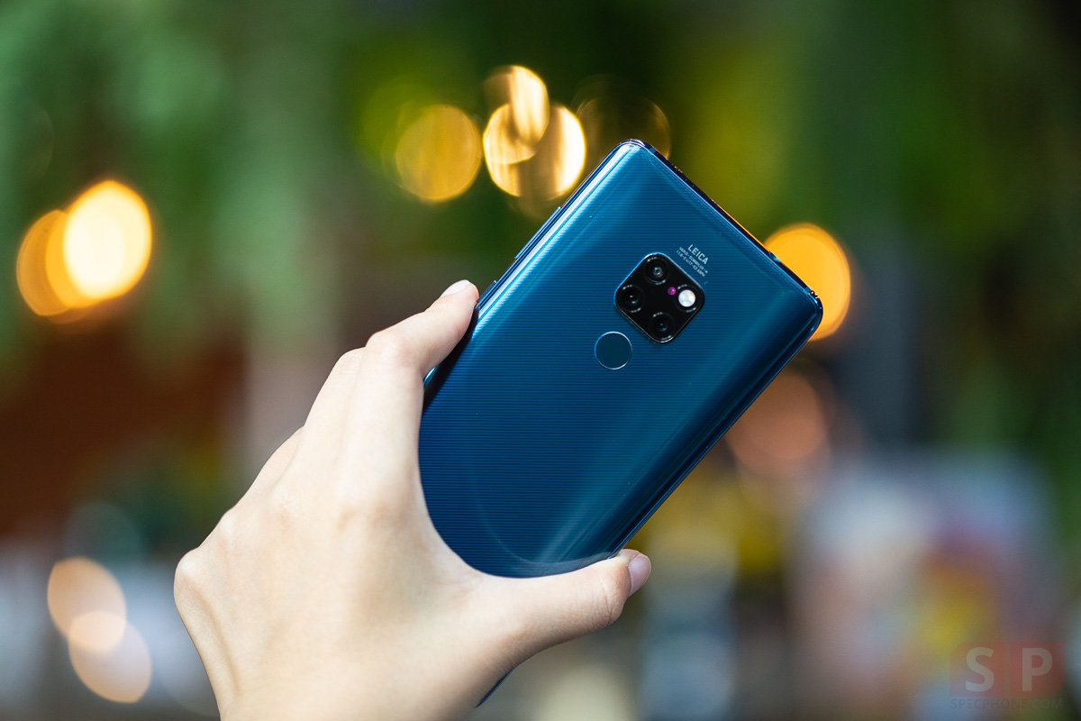 Review HUAWEI Mate 20 SpecPhone 21