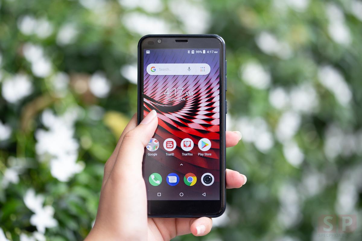 Review TRUE SMART 4G P1 SpecPhone 6