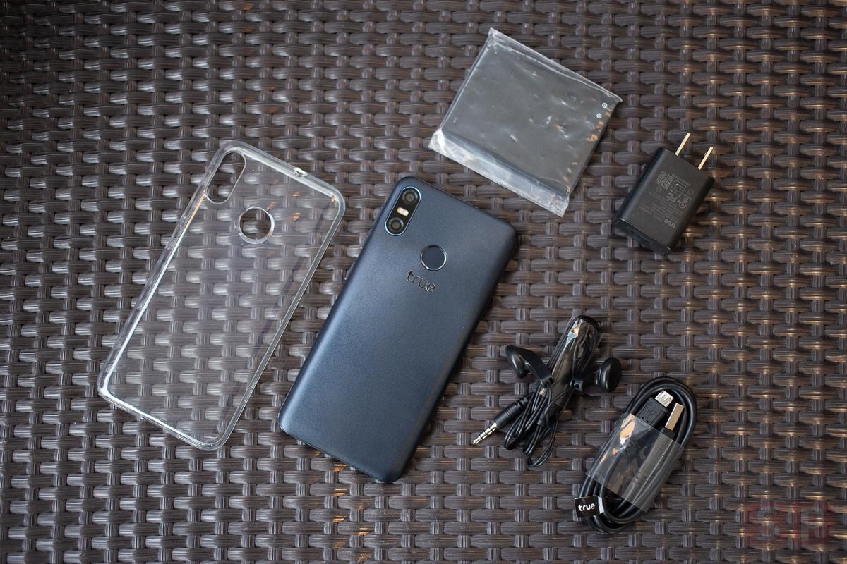 Review TRUE SMART 4G P1 SpecPhone 9