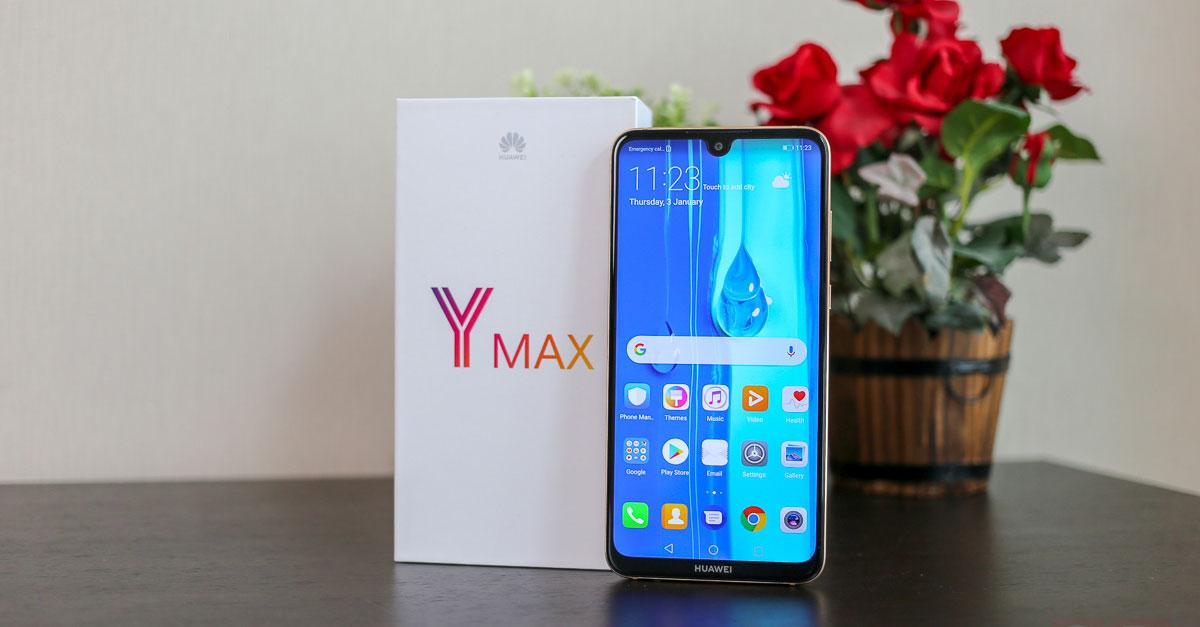 รีวิว Huawei Y Max