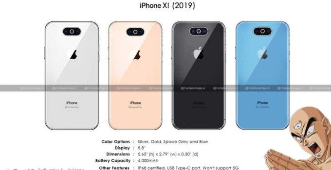 iPhone XI 2019 Leak SpecPhone Cover