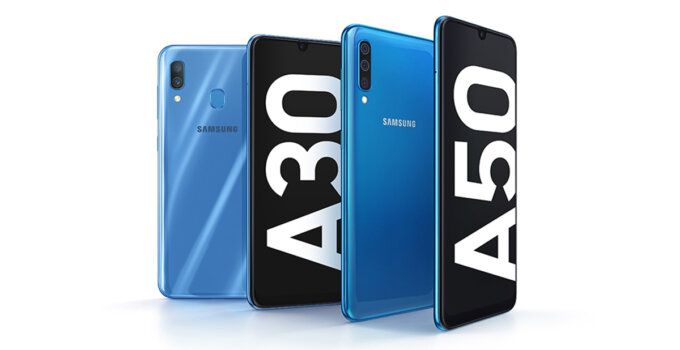 Galaxy A3050 Product KV BlueBlue 1P main 1