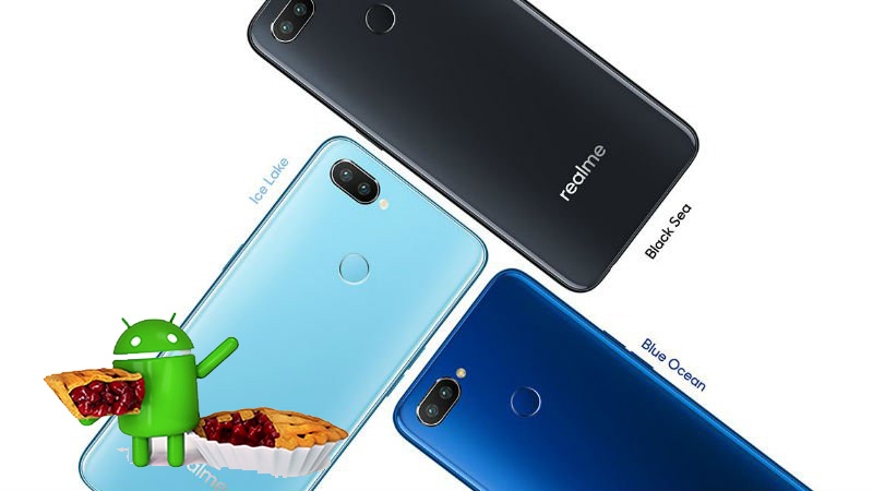 Realme 2 Pro color variants Android 9