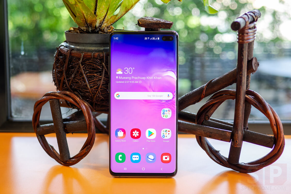 Review Samsung Galaxy S10 Plus SpecPhone 7