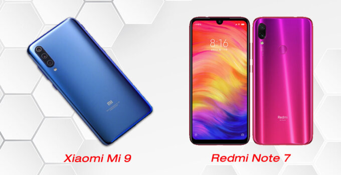 SP UPDATE Xiaomi Mi 9 and Redmi Note 7