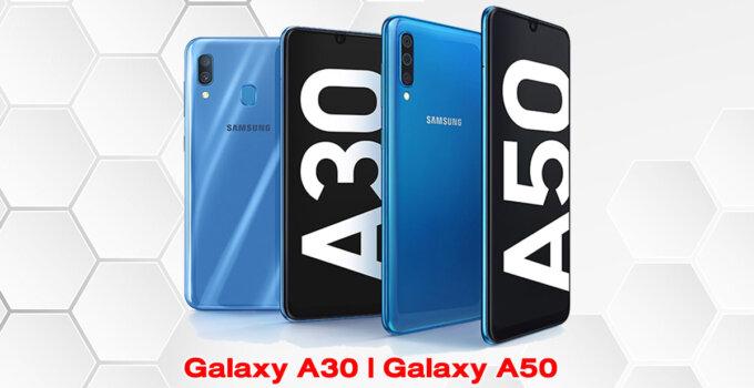 SP Update Galaxy A30 A50 Cover