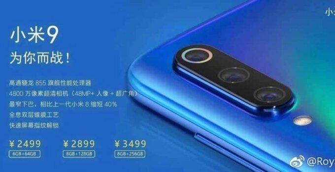 Xiaomi Mi 9 Price 00002
