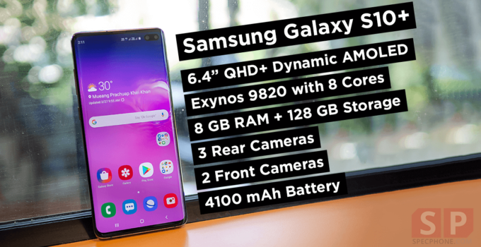 cover Review Samsung Galaxy S10 Plus SpecPhone