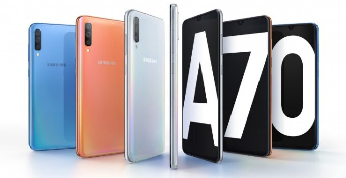 Galaxy A70 featured