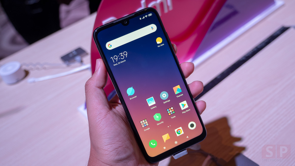 Hands on Redmi Note 7 by Xiaomi SpecPhone 0013