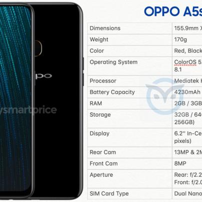 Oppo-A5s-Specs-Leak