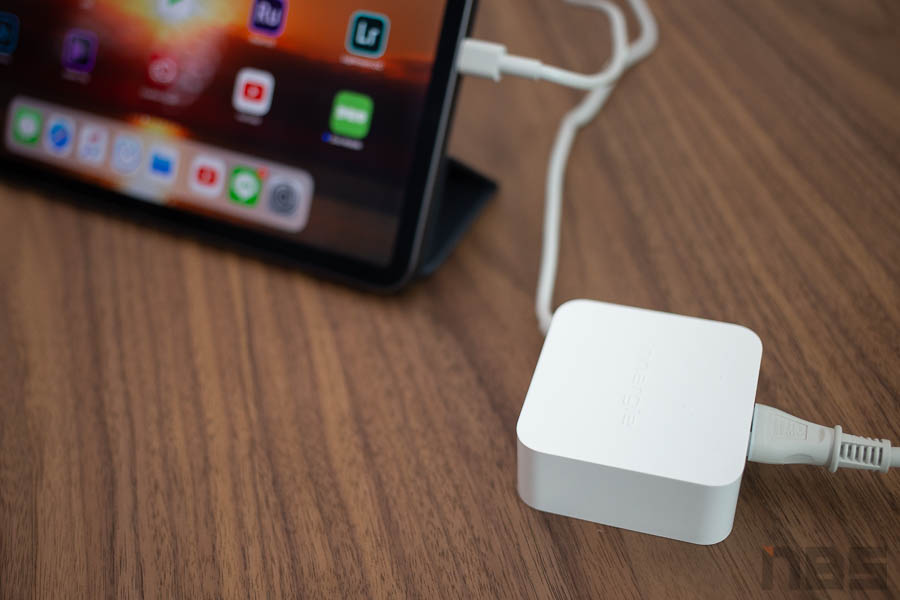 Review Innergie 65W USB C Adapter NBS 00001