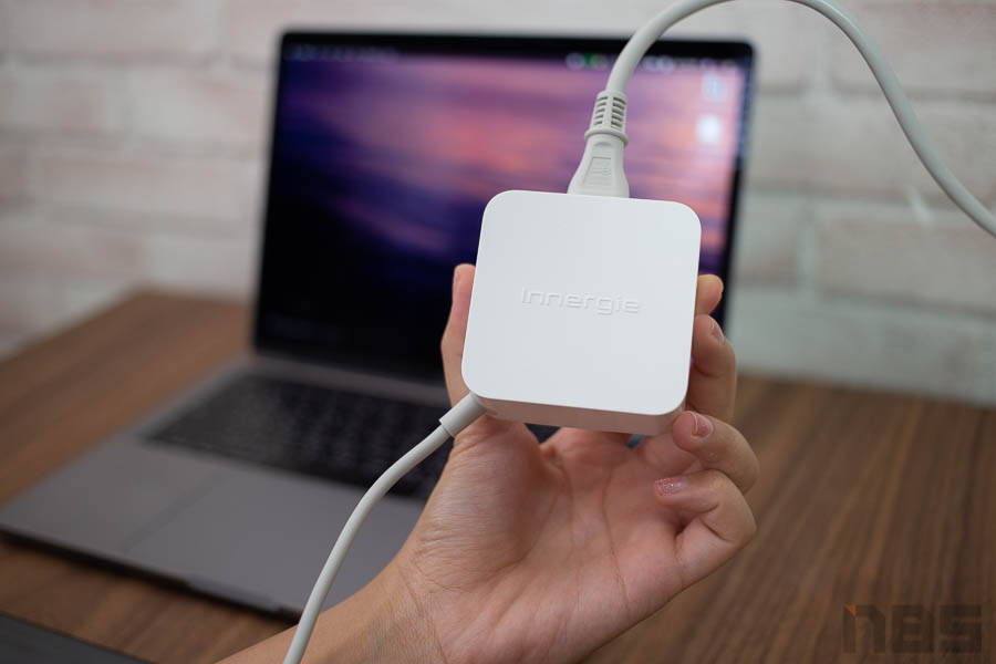 Review Innergie 65W USB C Adapter NBS 00005