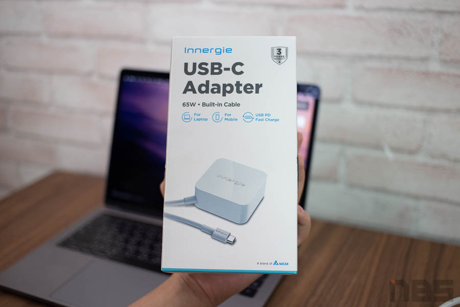 Review Innergie 65W USB C Adapter NBS 00008