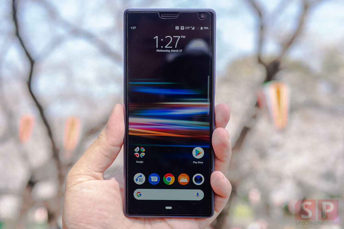 Review Sony Xperia 10 SpecPhone 1