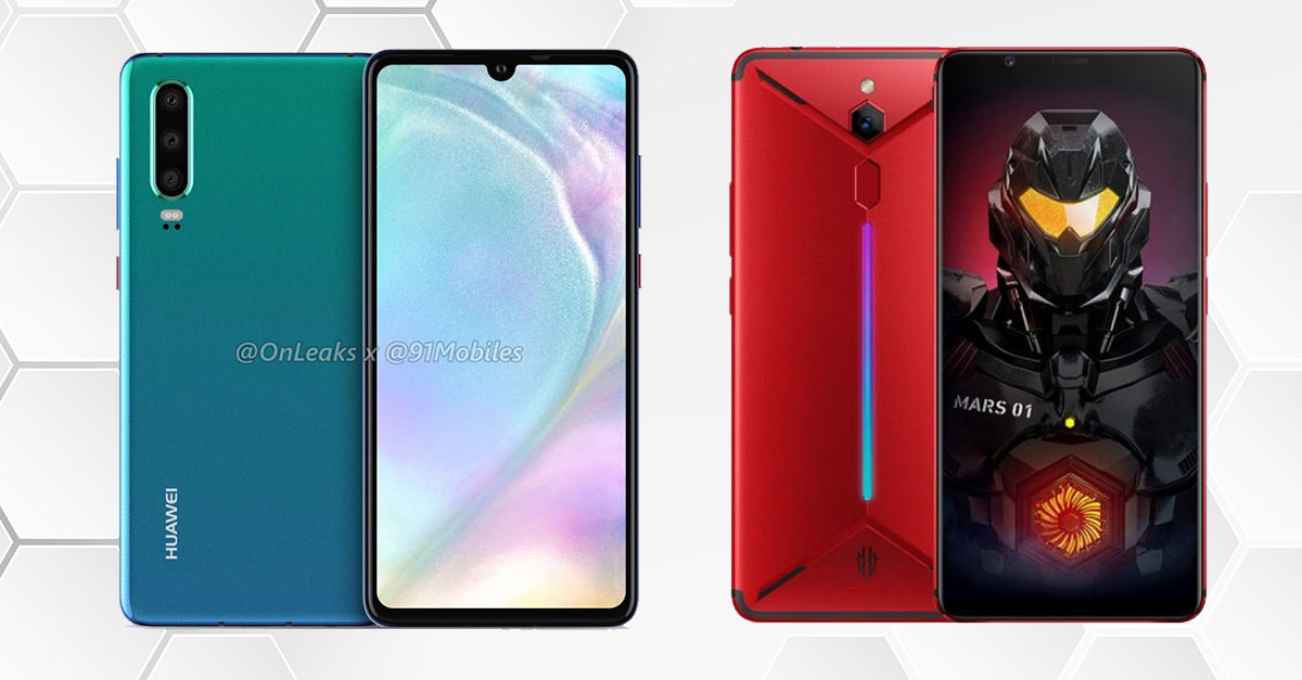 SP UPDATE HUAWEI P30 and Nubia Red Magic Mars