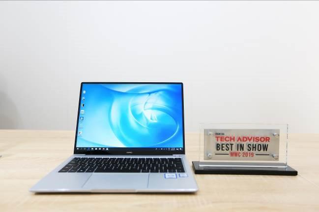 """TechAdvisor named the HUAWEI MateBook 14 """"Best of MWC 2019"""""""