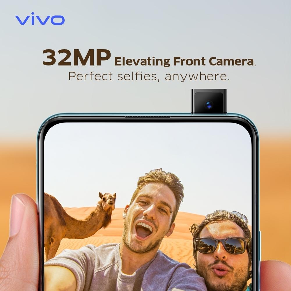 Vivo V15 Pro 32 MP Pop up