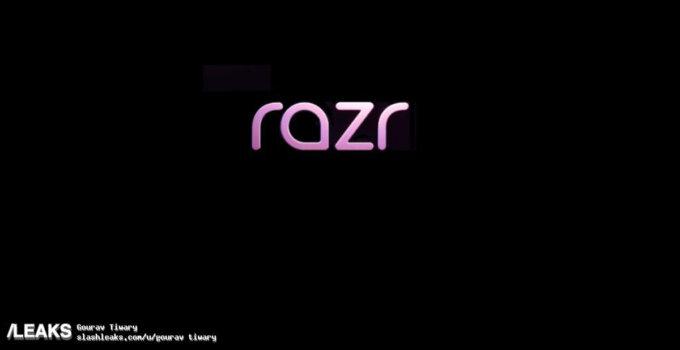 หลุดโลโก้ พร้อมสเปคหลักของ Motorola RAZR มือถือฝาพับ 2 หน้าจอที่เตรียมคืนชีพเร็ว ๆ นี้