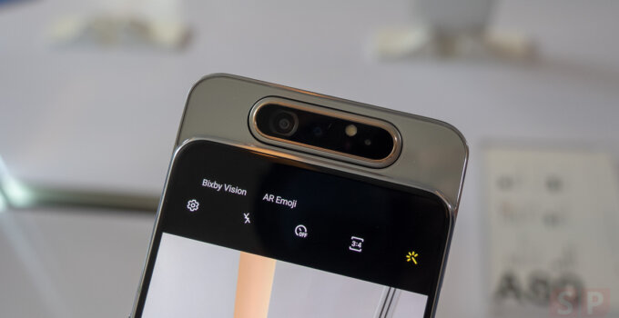 Hands on Samsung Galaxy A80 SpecPhone 0016