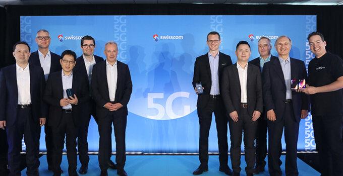 OPPO X Swisscom 5G in Europe 00001