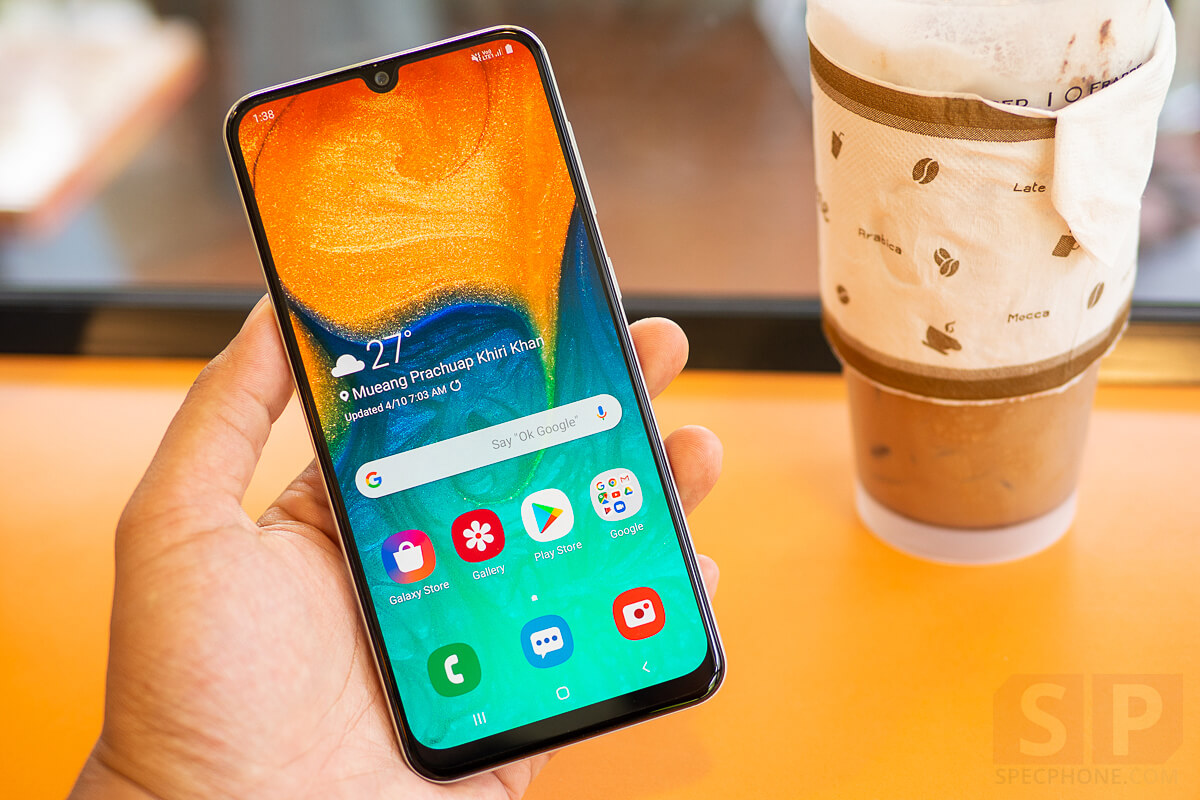 Review Samsung Galaxy A30 SpecPhone 15