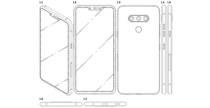 Screenshot 2019 04 21 LG files patent for smartphone with three selfie cameras