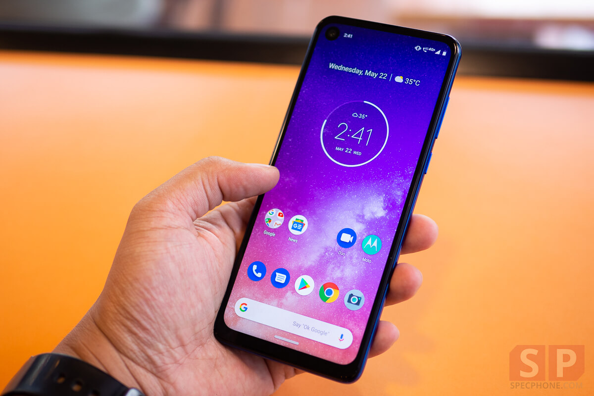 Review Motorola One Vision SpecPhone 8