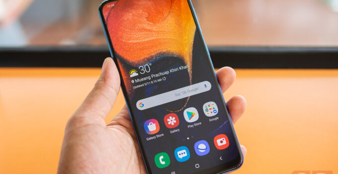 Review Samsung Galaxy A50 SpecPhone 10