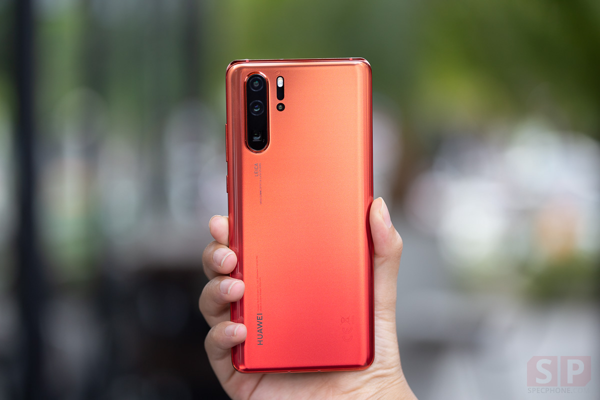 Review HUAWEI P30 Pro Amber Sunrise SpecPhone 00015