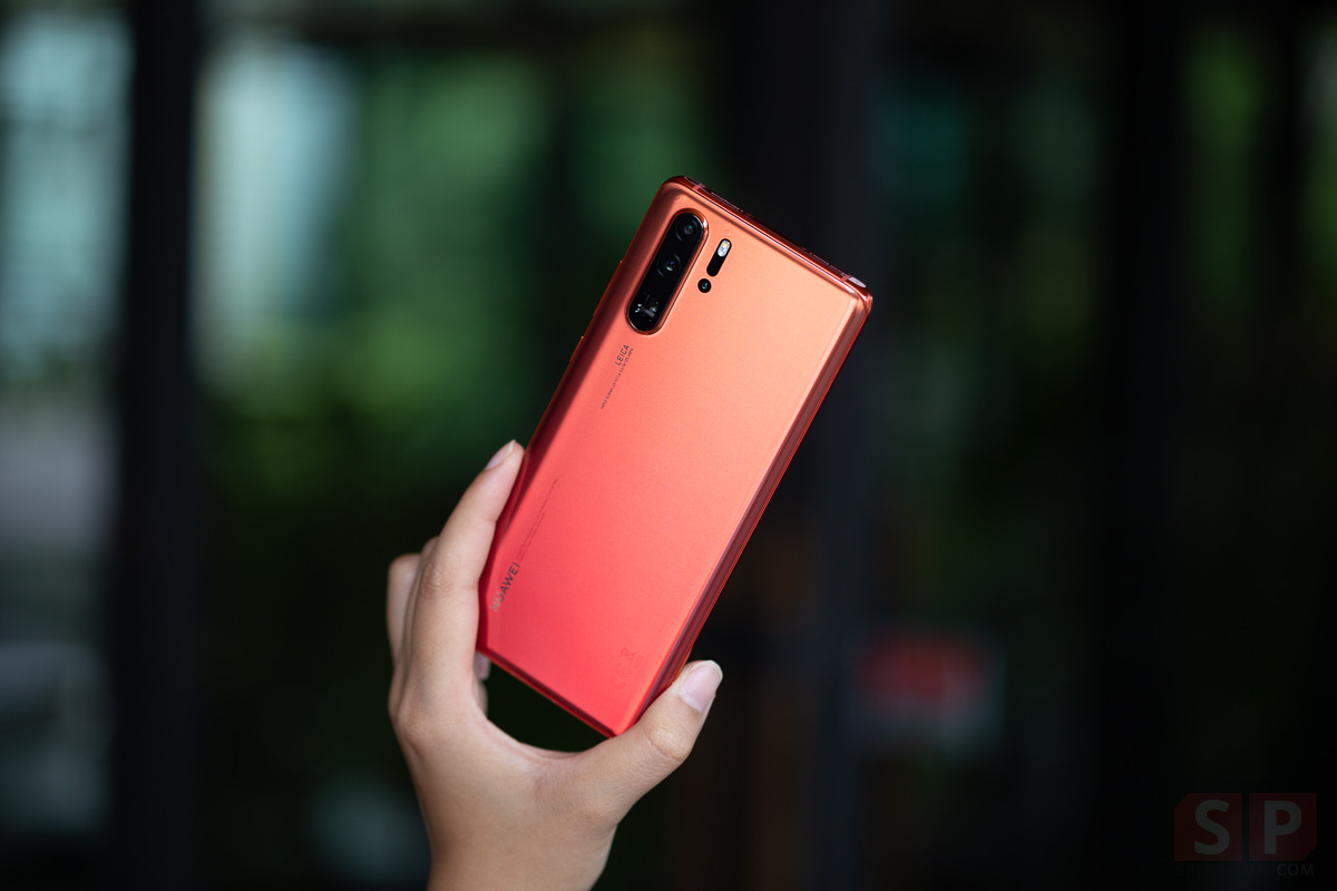 Review HUAWEI P30 Pro Amber Sunrise SpecPhone 00017