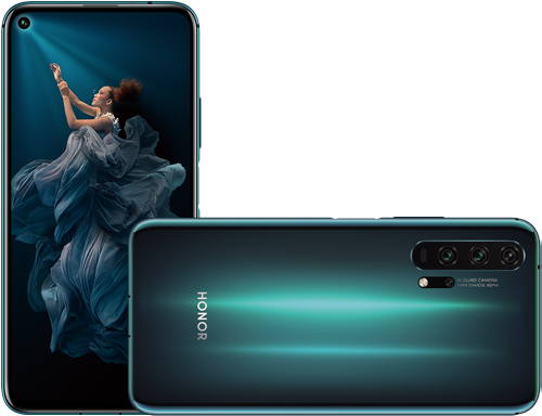 honor 20 pro specification phantom blue