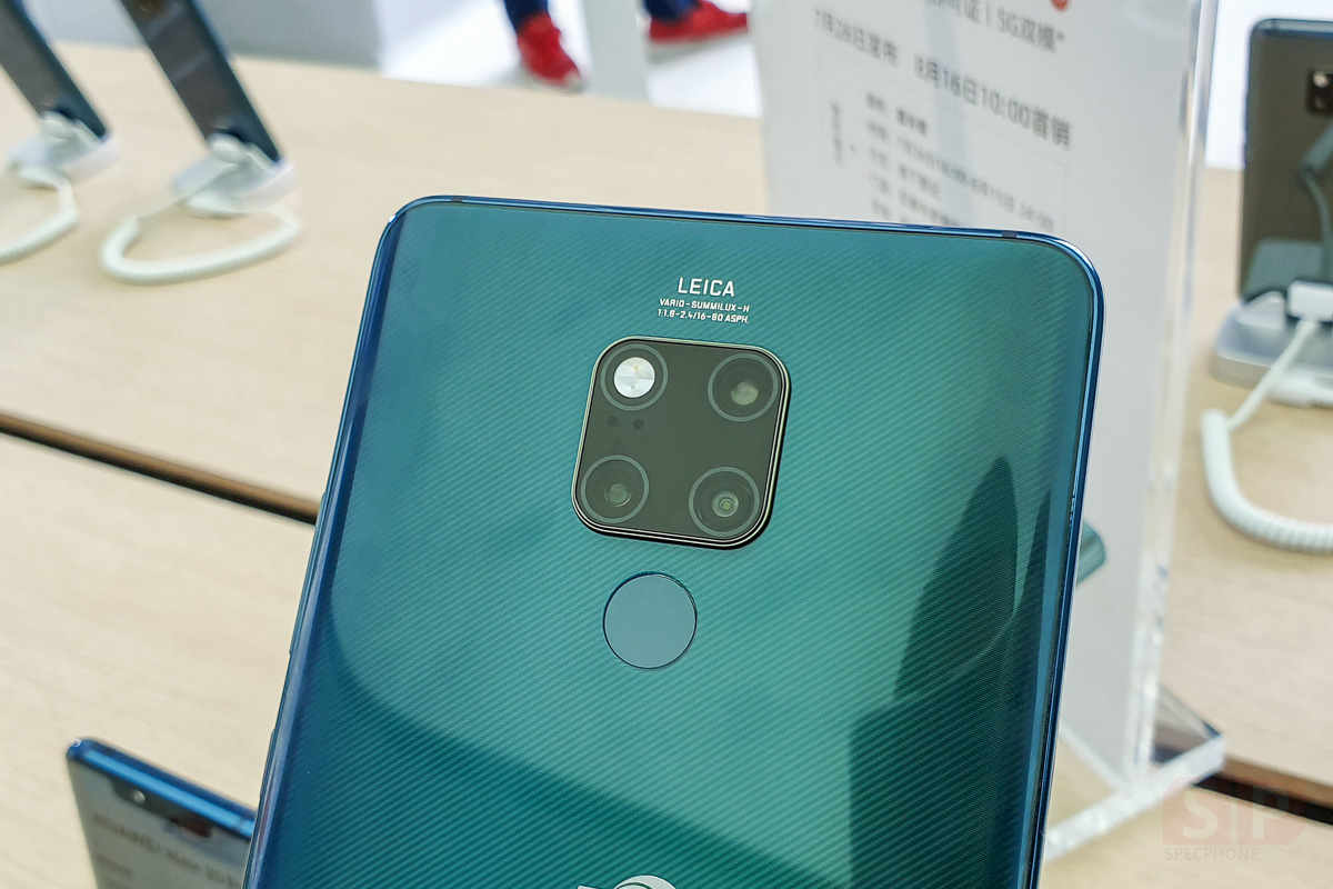 Hands on HUAWEI Mate 20 X 5G SpecPhone 0004
