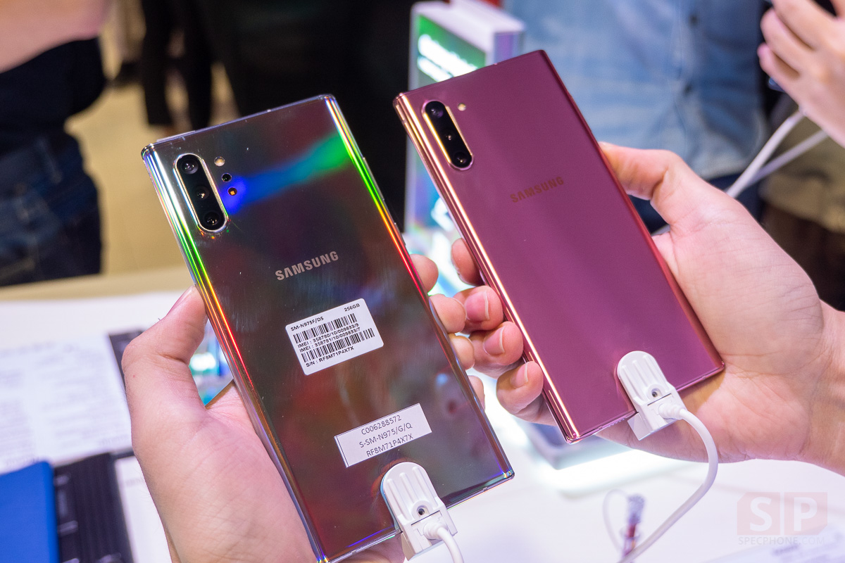 Hands on Samsung Galaxy Note 10 and Note 10 Plus SpecPhone 0027