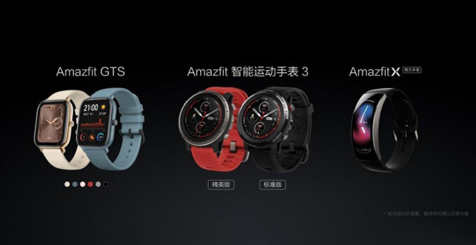 Huami Amazfit GTS Sports Smart Watch 3 X 1024x436