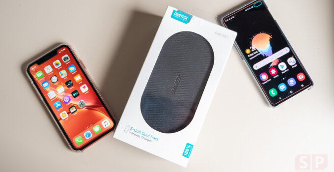 Review CHOETECH T535 S Wireless Charger SpecPhone 0020